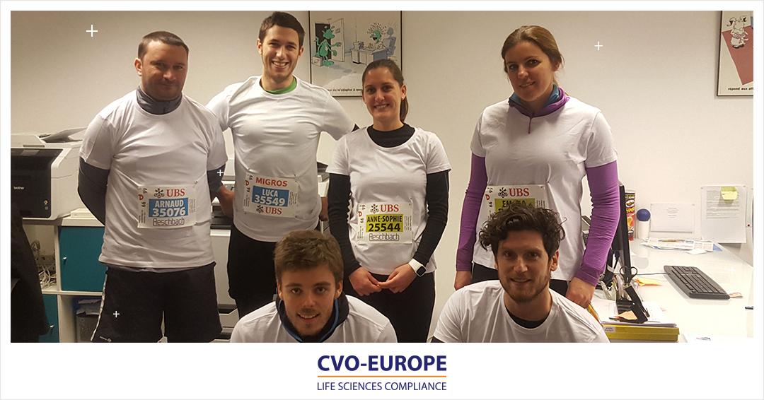 CVO-EUROPE participe à la course de l'Escalade Genève