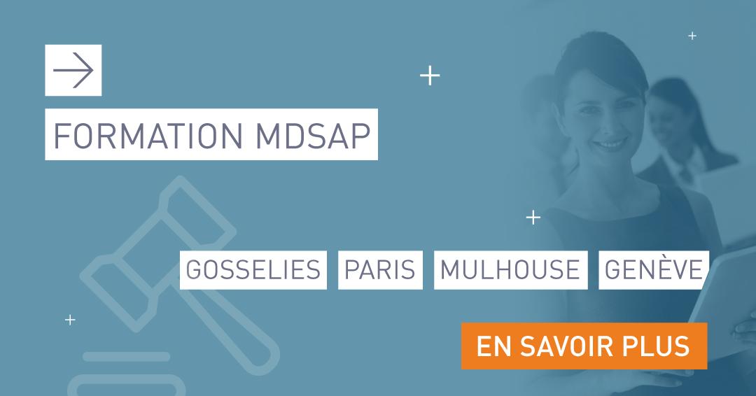 formation MDSAP