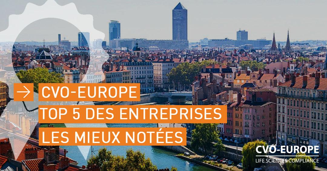CVO-EUROPE top 5 des entreprises à Lyon