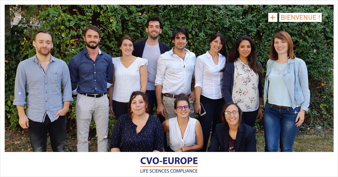 2ème session d'intégration de septembre : bienvenue aux nouveaux consultants CVO-Europe !