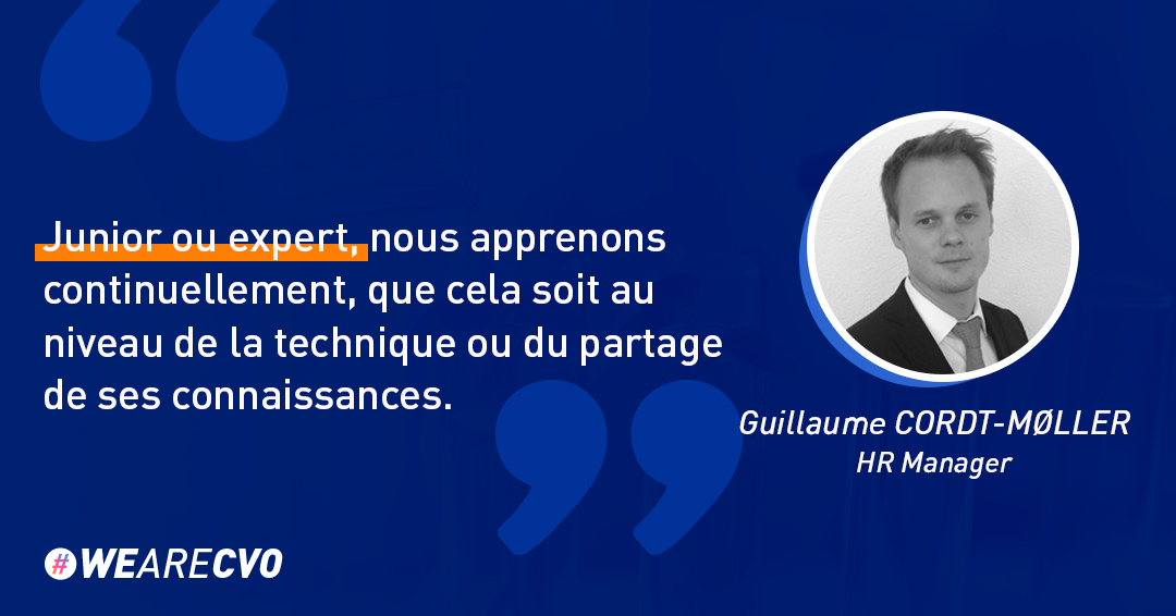 Guillaume Cordt Moller HR Manager Suisse formation interne CVO-EUROPE