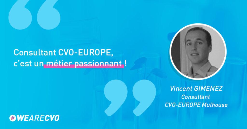 Interview du consultant de Mulhouse Vincent Gimenez CVO-EUROPE