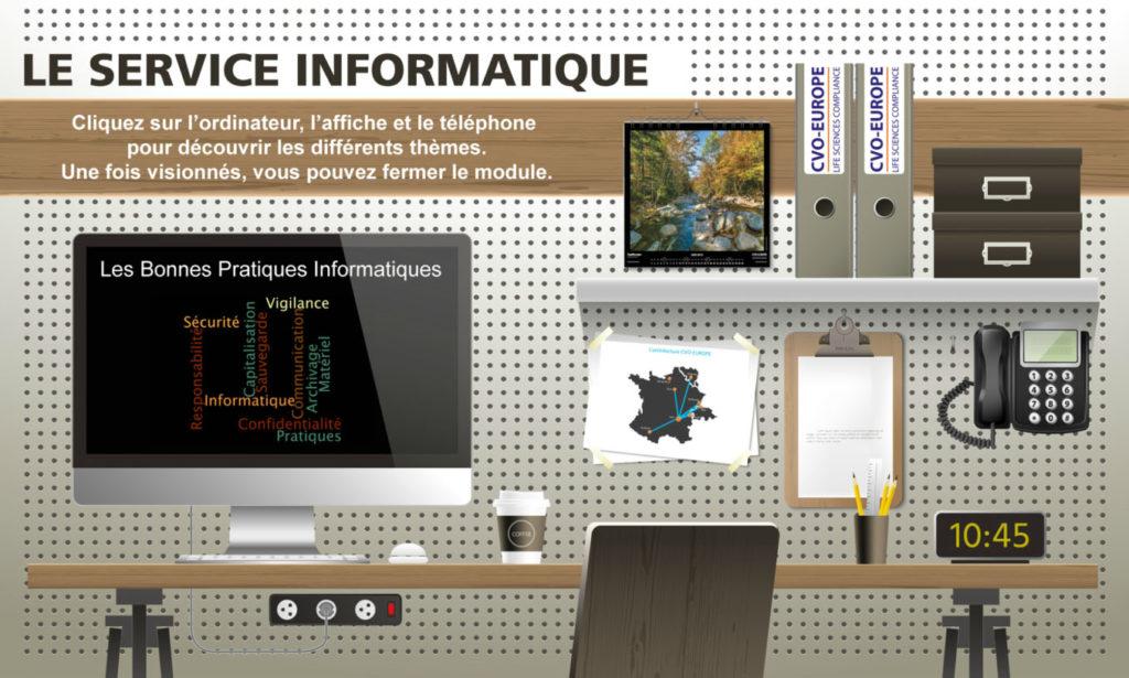 Studio de création CVO-EUROPE pour l'ingénierie pédagogique