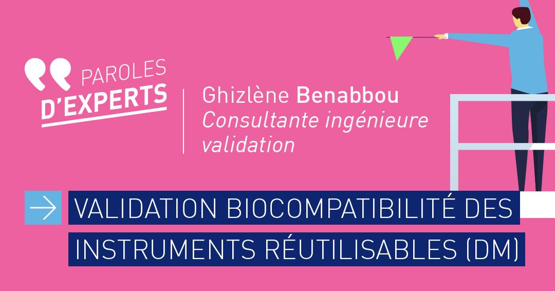 Validation de la biocompatibilité des instruments DM CVO-EUROPE
