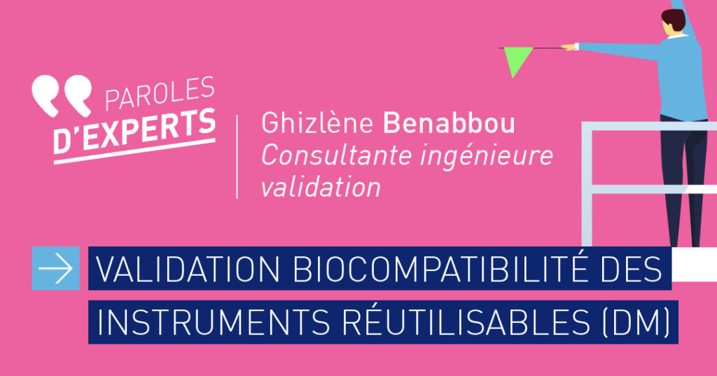 Validation de la biocompatibilité des instruments DM CVO-EUROPE