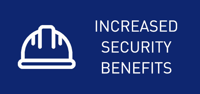 3D TRAINING INCREASED SECURITY BENEFITS