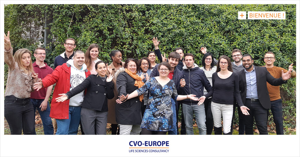 Intégration des consultants CVO-EUROPE mars 2019