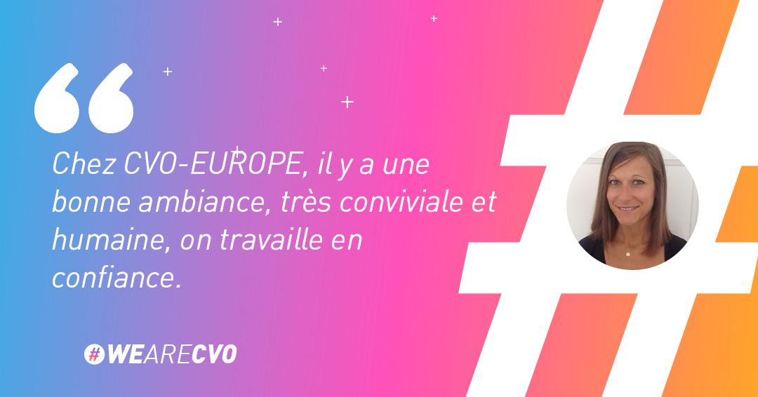 Camille, HR Manager chez CVO-EUROPE témoigne sur la vie de consultant chez CVO-EUROPE