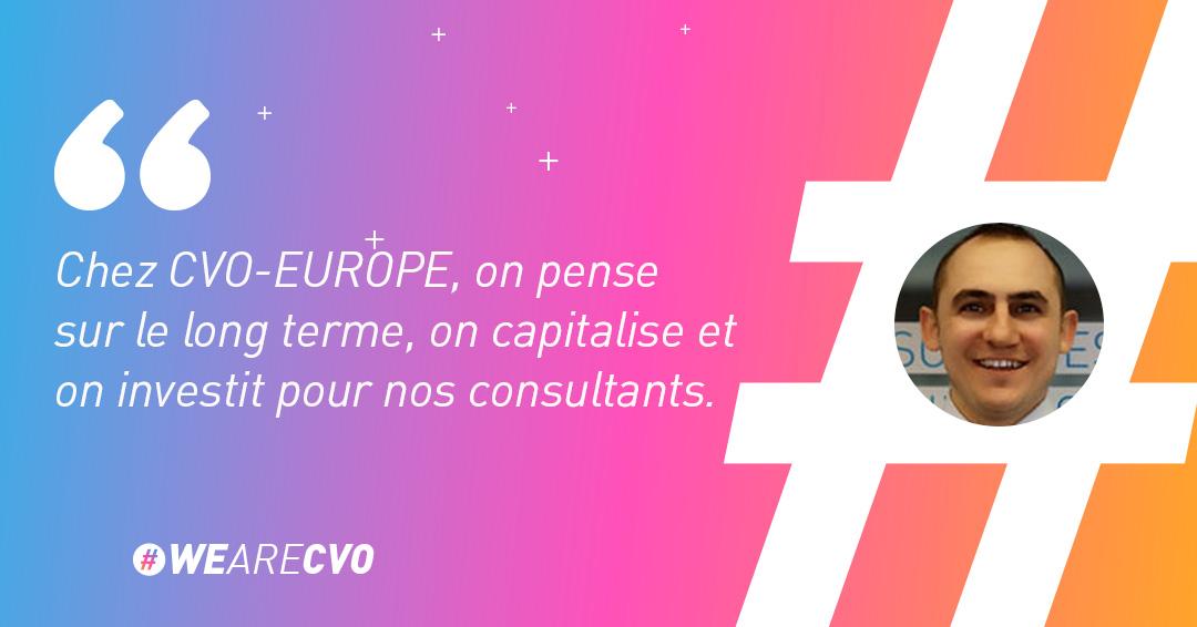 Damien Van Thielen Business Manager CVO-EUROPE